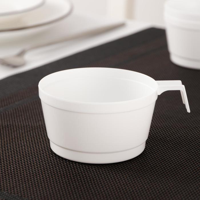 Чашка Доляна, 140 мл, цвет белый
