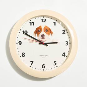 """Часы настенные """"Милый пёс"""", d=30.5 см"""