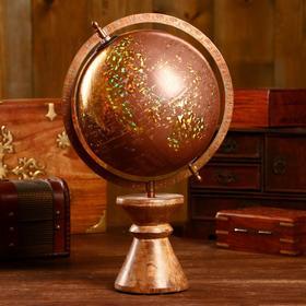 """Сувенир глобус """"Вечер"""" 26х20х38 см"""