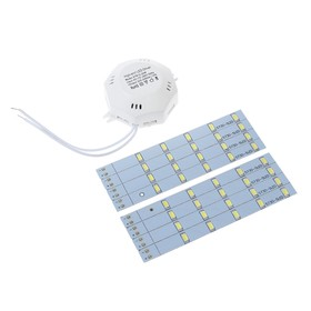 Светодиодный модуль для светильника, 20 Вт, 263 мм, 1500 Лм, 220 В, 6500 К