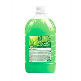 """Крем-мыло """"Аура"""" Витаминизирующее Зеленый чай и алоэ вера, 5 л"""
