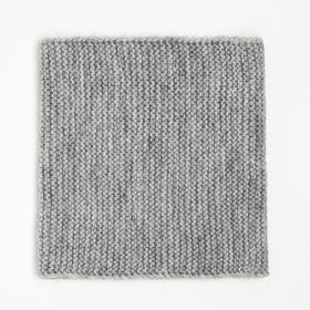 Снуд для мальчика, цвет серый, размер 23х26