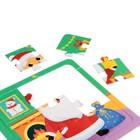 Пазлы 4 в 1 «Новогодний праздник», 4, 6, 9, 12 элементов - фото 107036836