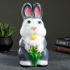 """Копилка """"Кролик с ромашкой"""""""