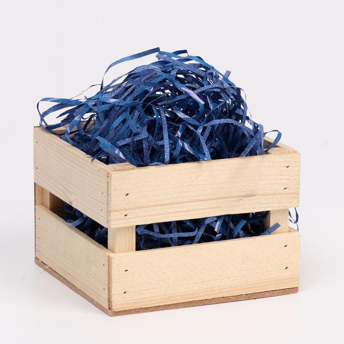 Наполнитель из пластика, с глиттером, 20гр, королевский синий - фото 3173142