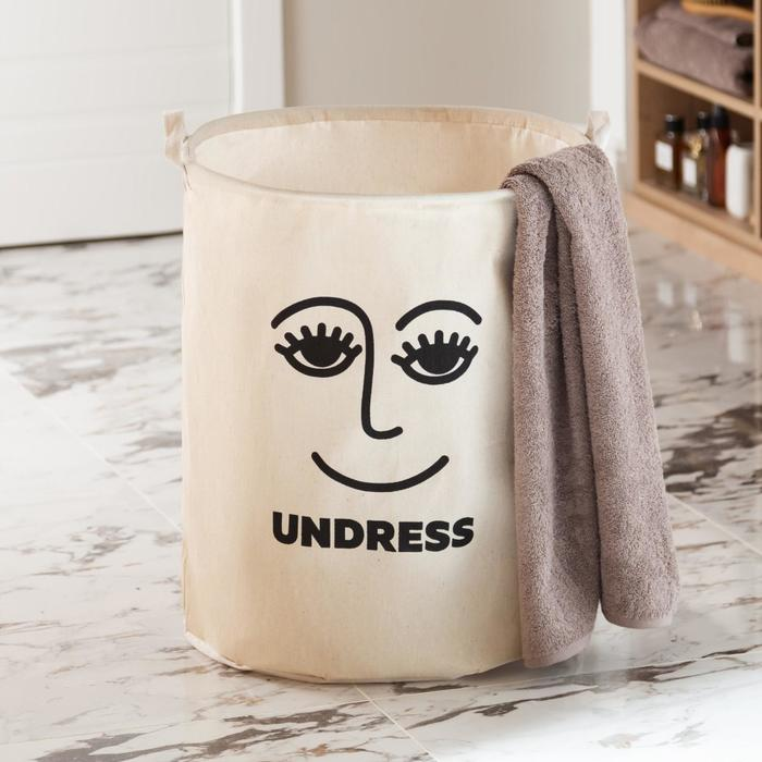 """Корзина текстильная Этель """"Undress"""", 45*55 см - фото 1418655"""