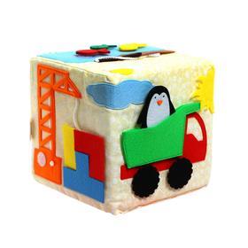 Кубик «Бизикубик. Приключение пингвина» 16 × 16см