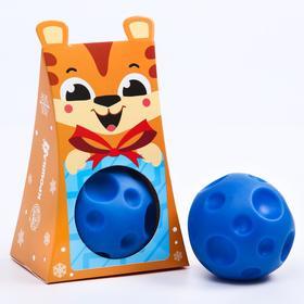 Развивающий массажный рельефный мячик «Тигрёнок», 1 шт.