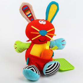 Развивающая игрушка «Забавный зверь. Зайчик»