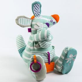Развивающая игрушка «Забавный зверь. Кенгуру» серия Primo
