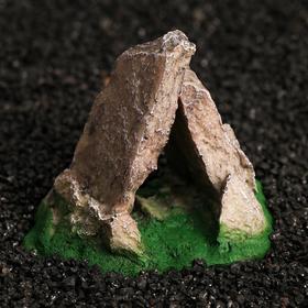 Декор для террариума под скалы, 11 х 8,5 х 9,5 см