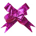 Bow-tie №1,2 holography, color raspberry