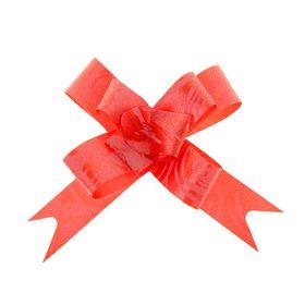 Бант-бабочка №1,2 'Розы', цвет красный Ош