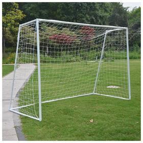 Футбольные ворота DFC GOAL302T, 302 x 200 x 130 см, с сеткой и тентом для отработки ударов