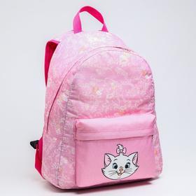 Рюкзак молод Мари, 33*13*37, отд на молнии, н/карман, розовый