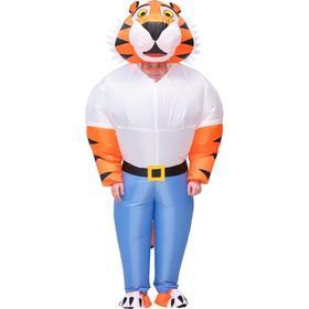 Костюм надувной «Тигр», рост 150-190 см