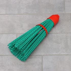 Метла полипропиленовая «Премиум», синтетическая, без черенка, цвет МИКС