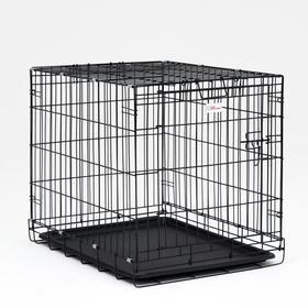 Клетка для собак № 3, 77 х 59 х 62 см, 10 кг