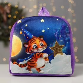 Рюкзак детский «Тигр звездочёт», 27 х 28 см