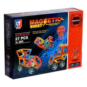 Конструктор магнитный «Магический магнит», 27 деталей