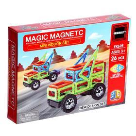 Конструктор магнитный «Магический магнит», 26 деталей