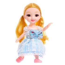 Кукла шарнирная «Есения» в платье, МИКС