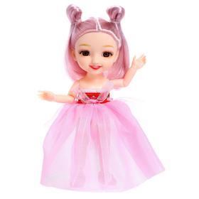 Кукла шарнирная «Женечка» в платье, МИКС
