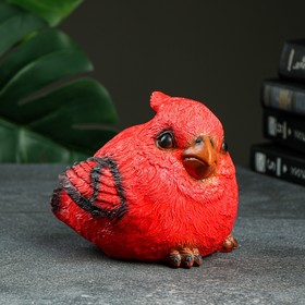 "Копилка ""Красный кардинал"" 14х14х17см"