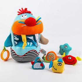 Развивающая игрушка «Морж-сортер»