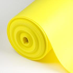 Евролон флористический 2 мм, лимон, рулон 1х10 м