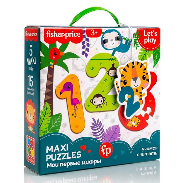 Макси-пазл «Мои первые цифры», 15 элементов