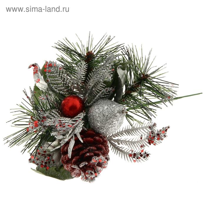 """Декор новогодний """"Красный стиль"""""""