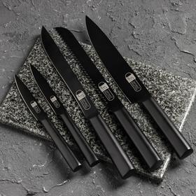 Набор ножей Adam, 5 шт, подставка из акации