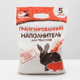 """Гранулированный наполнитель """"Пижон"""" для грызунов, 5 л"""