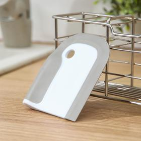 Щётка для очистки плит, посуды, 8×10×1,5 см