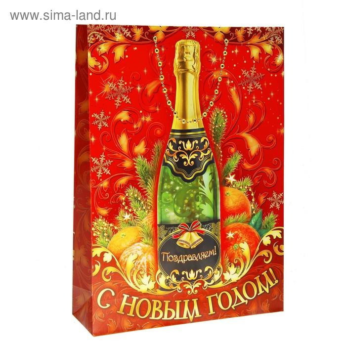 "Пакет ламинат S ""Шампанское"" тиснение"