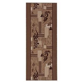 Дорожка ковровая, размер 150х350 см, войлок