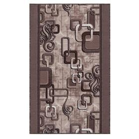 Дорожка ковровая, размер 100х350 см, войлок