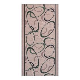 Дорожка ковровая 1729а2/206, размер 80х300 см, войлок,  ПА 100%