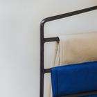 Вешалка для брюк антискользящая, 4-х уровневая, цвет МИКС - фото 4642630