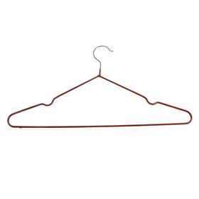 Вешалка-плечики с антискользящим покрытием, размер 42-46, цвет бронзовый Ош