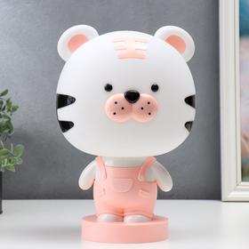 """Настольная лампа """"Тигрёнок"""", 1х15Вт Е14,  цвет розовый"""