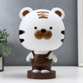 """Настольная лампа """"Тигрёнок"""", 1х15Вт Е14,  цвет коричневый"""