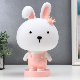 """Настольная лампа """"Зайчик"""", 1х15Вт Е14,  цвет розовый"""