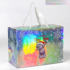 """Пакет-коробка подарочная """"Happy new year"""", Me To You"""