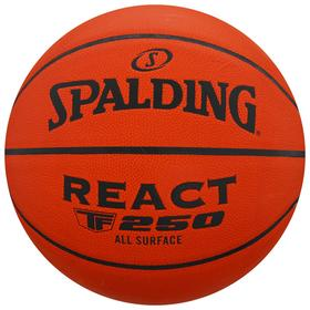 Мяч баскетбольный Spalding React TF-250 SZ6, размер 6