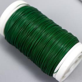 """Проволока обмоточная на катушке """"Зелёный"""" толщ. 0,35 мм. 100 гр - фото 9364511"""