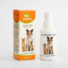 """Лечебные травы """"Пижон"""" для собак и кошек, вязка-минус, 50 мл"""