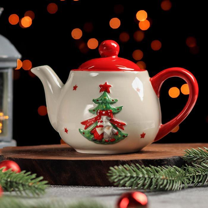 Чайник заварочный «Новогодние помощники», 500 мл