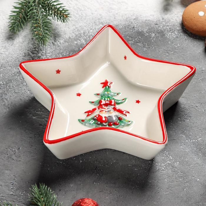Блюдо «Новогодние помощники», 18×4 см